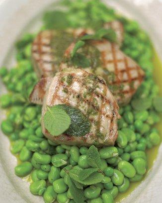 тунец на гриле рецепты приготовления
