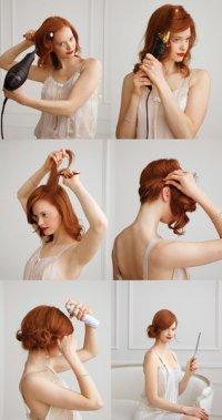 Высокая прическа для длинных волос своими руками