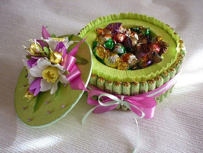 Букет из конфет торт своими руками мастер класс