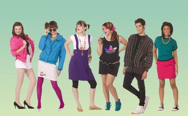 Женская Одежда В Стиле Рок В 80-Е Годы
