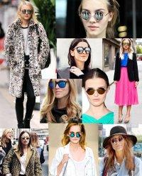 Зеркальные очки - модный тренд 2012
