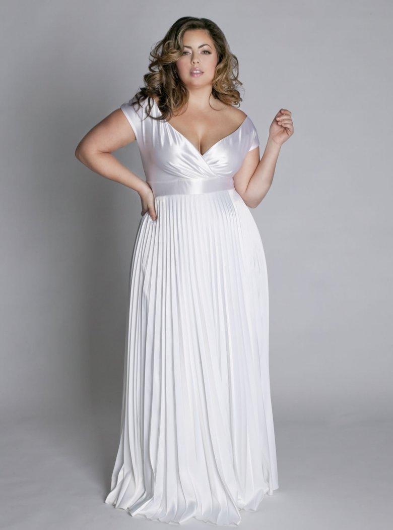 Свадебное платье для полных женщин