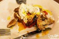 Бутерброд с грибами, яйцом и помидором от Юлии Высоцкой
