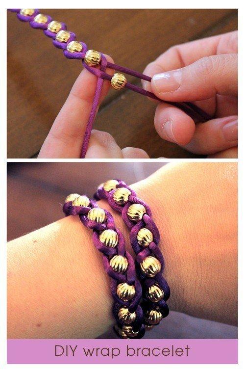 Идеи для браслетов на руку из бусин