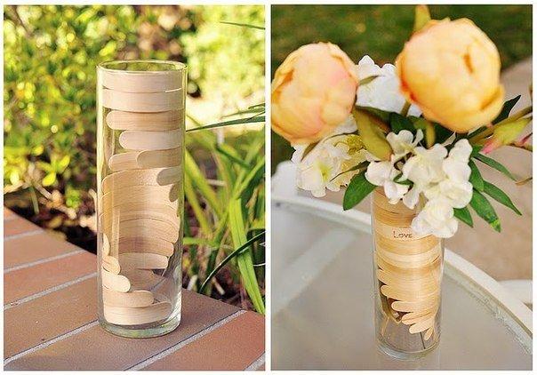 Поделка в виде вазы 379