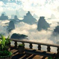 Национальный парк в Чжанцзяцзе, Китай