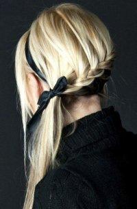 Лента в волосах - модный тренд 2012