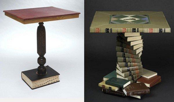 Столы из книги своими руками