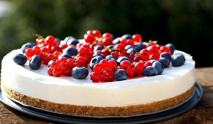 Рецепты летних тортов с фото