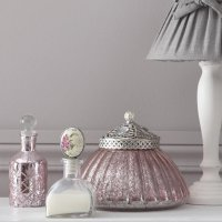 Сочетание серого с розовым в интерьере