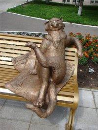 Памятники котам: Йошкин кот
