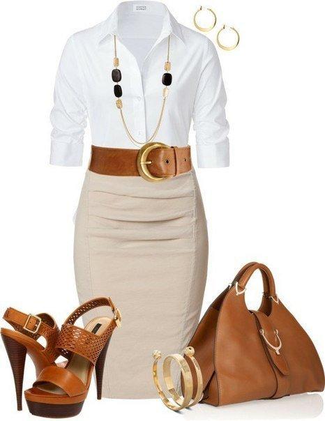 Деловой стиль одежды для девушек летом