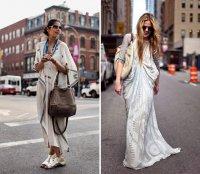 Платье-кафтан