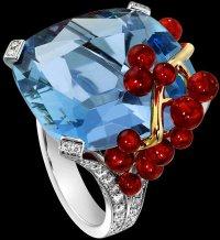 Коктейльные кольца Piaget: Голубая лагуна