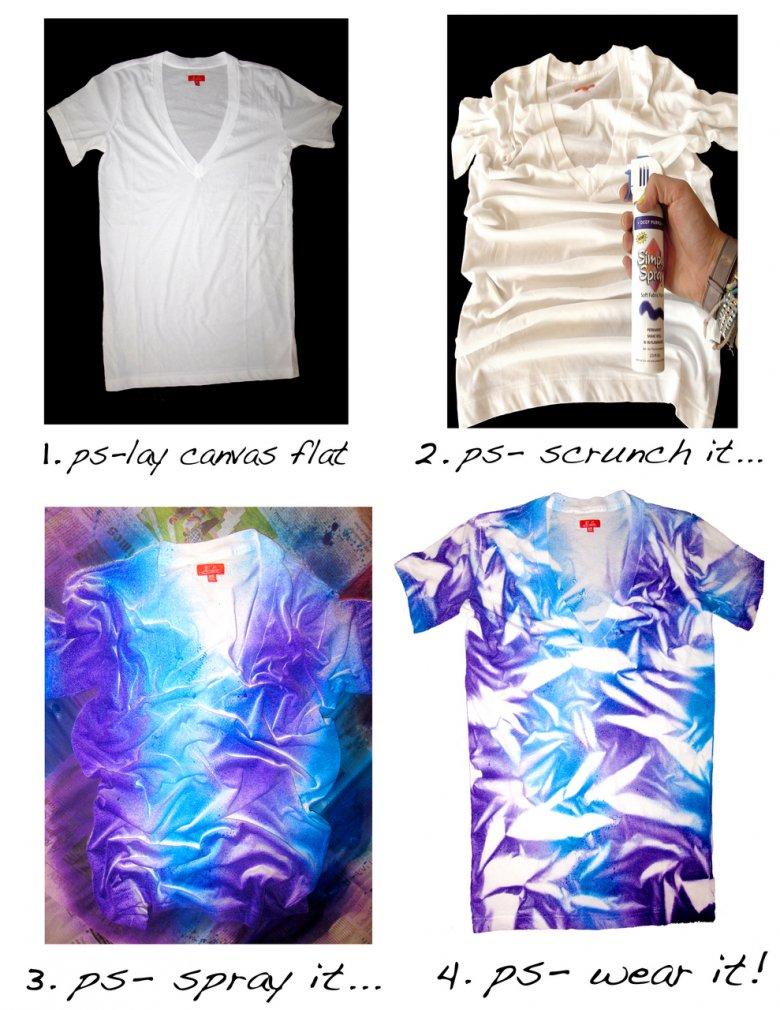 Перекрасить футболку