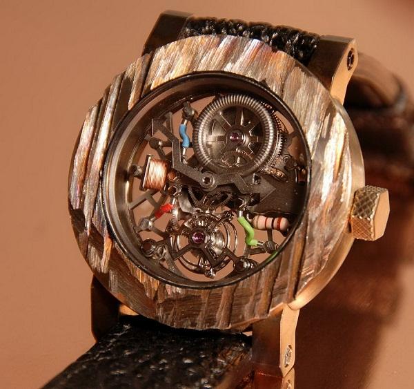 Необычные часы: ArtyA Tesla Skeleton Tourbillon by Yvan Arpa