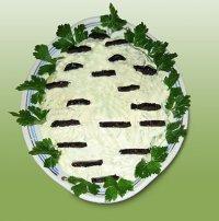 Салат «Белая береза»