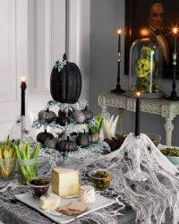 Как украсить интерьер на Хэллоуин?  Красивая идея для вдохновения