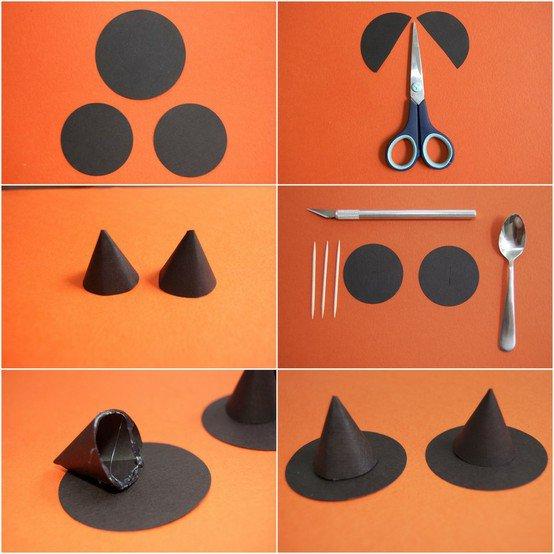 Как сделать колпак для ведьмы своими руками
