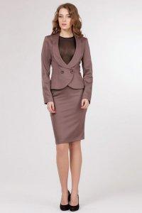 Какой цвет делового костюма выбрать: коричневый