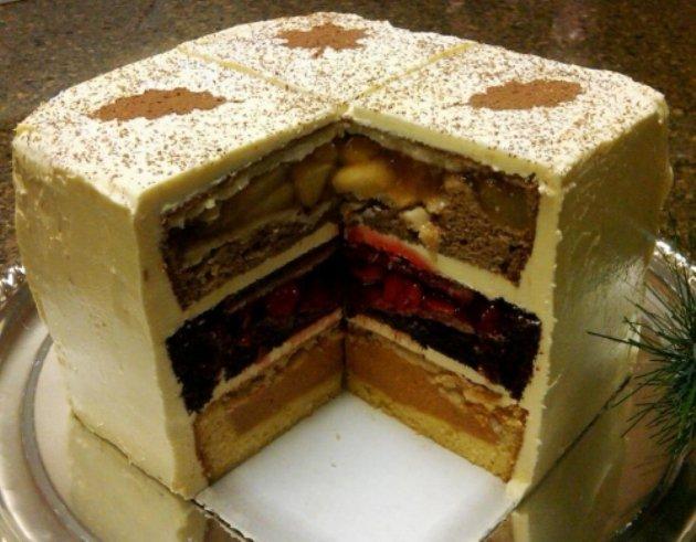 Фото рецетты красивых необычных тортов