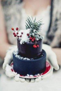 Порционный свадебный тортик