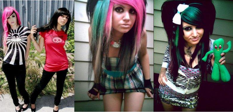 Одежды для подростков стиль треш