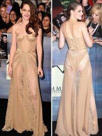 Кристен Стюарт выставила на аукцион свое платье