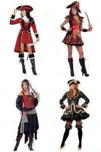 Костюмы на Новый год: пиратка
