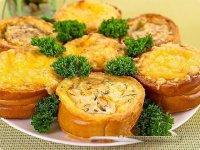 Блюдо на Новый год: гнездышки с рыбой