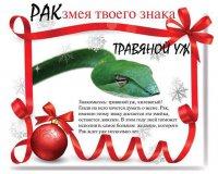 Змея твоего знака: Рак