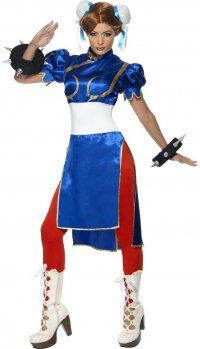 Костюмы на Новый год: Чунь Ли из Street Fighter II