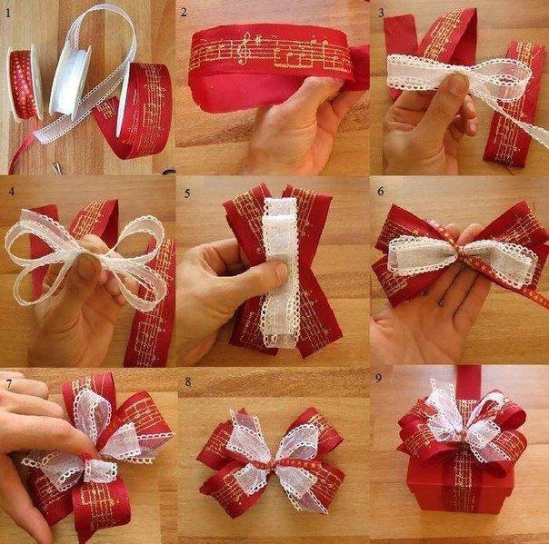 Подарочное украшение своими руками