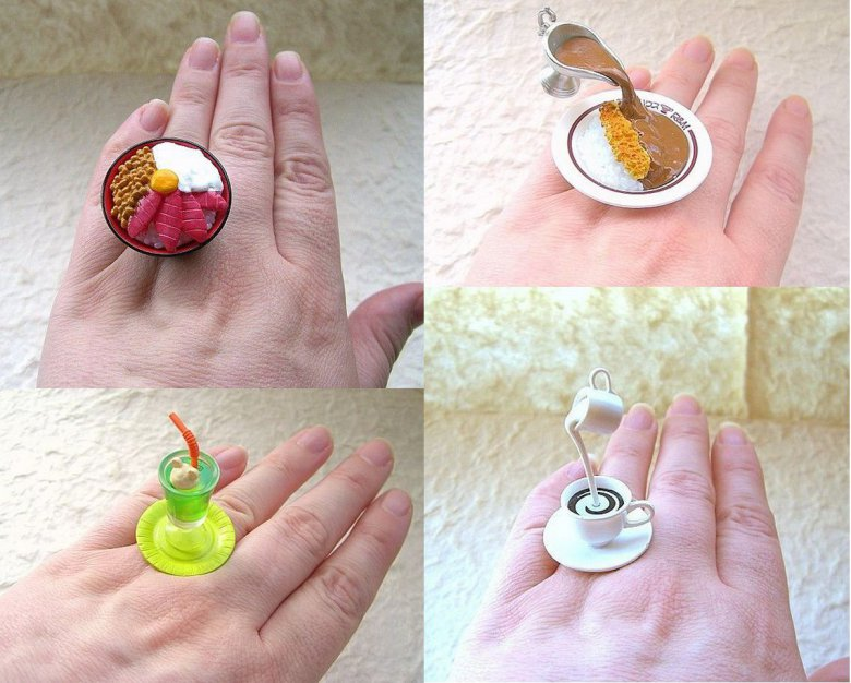 Как для куклы сделать кольцо из 51