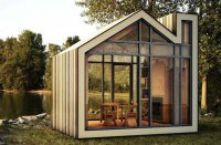 Сборный садовый домик Bunkie от канадских архитекторов