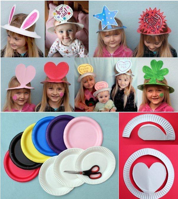 Шляпа своими руками из бумаги для ребенка 663