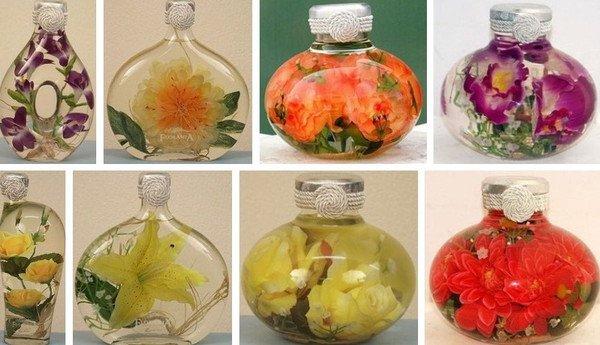Очистить труднодоступные места вазы и бутылки 0