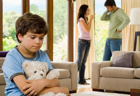 ссора в семье дети