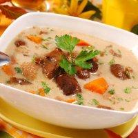 Великий пост: перловый суп с баклажанами