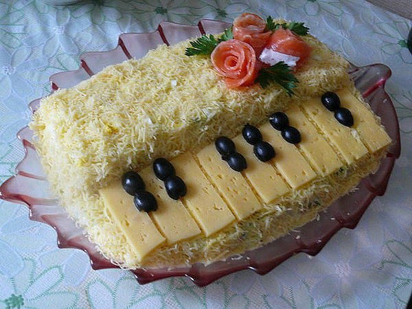 салат рояль с фото