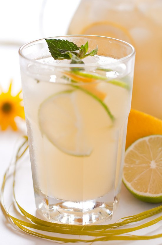 Домашний цитрусовый лимонад