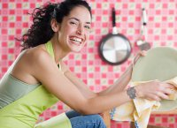 Домашнее средство для мытья посуды