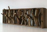 Эко-вешалка из дерева