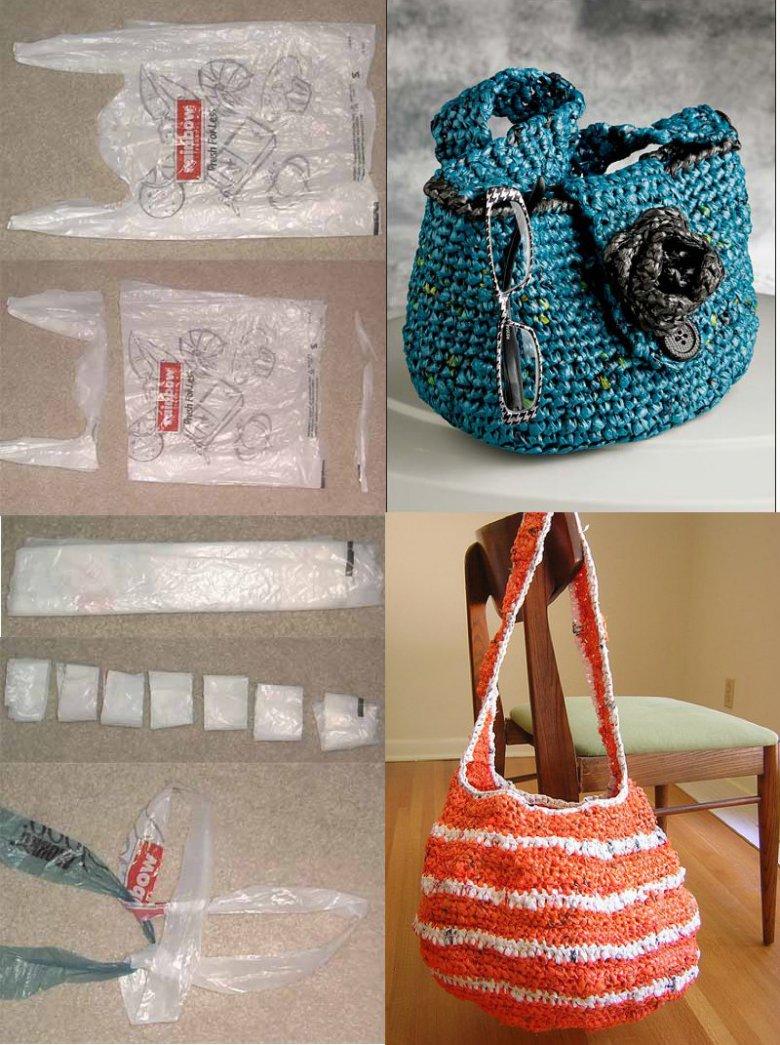 Вязание пакет для сумка 969
