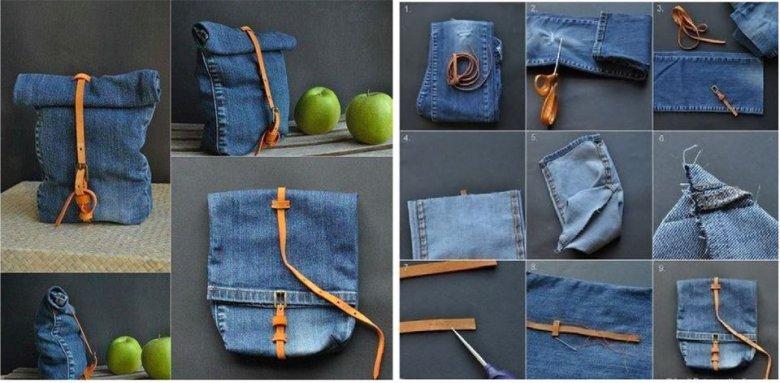 Вторая жизнь старых джинсов своими руками легко и просто фото 32