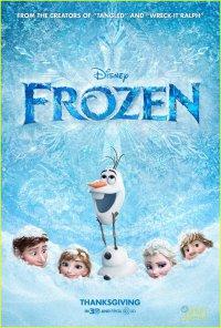 Новый международный постер мультфильма «Холодное сердце»