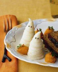 Забавный гарнир на Хэллоуин