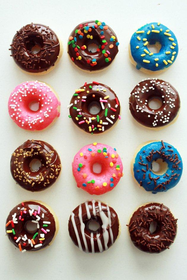 американские пончики в духовке рецепты