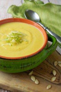 Детский суп из кабачка