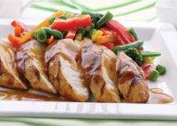Блюда из курицы к Новому году: запеченная курица под горчичным соусом